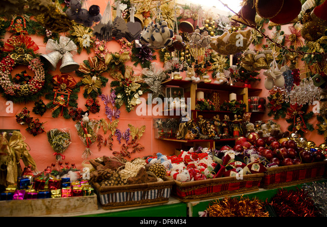 Spain christmas market stockfotos spain christmas market for Dekoration spanien