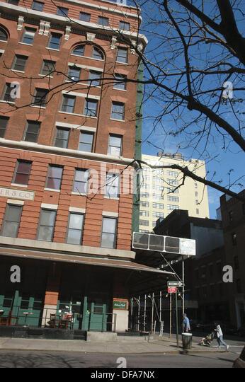 New York City (USA): der Hauptsitz des TriBeCa Filmfestivals Stockbild