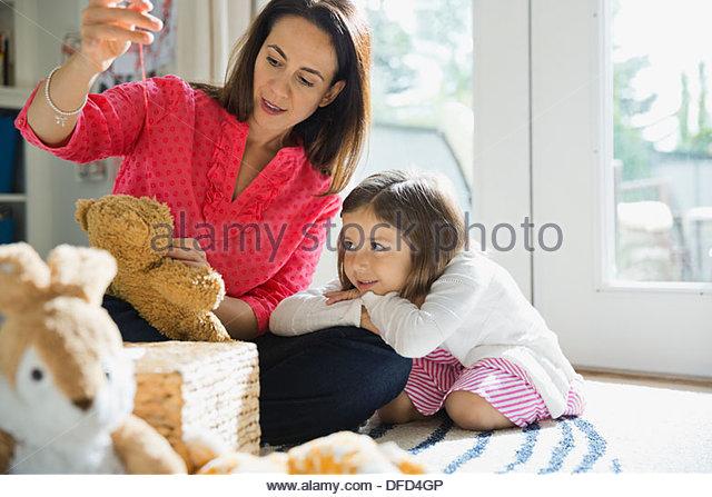 Mutter Tochter Analunterricht