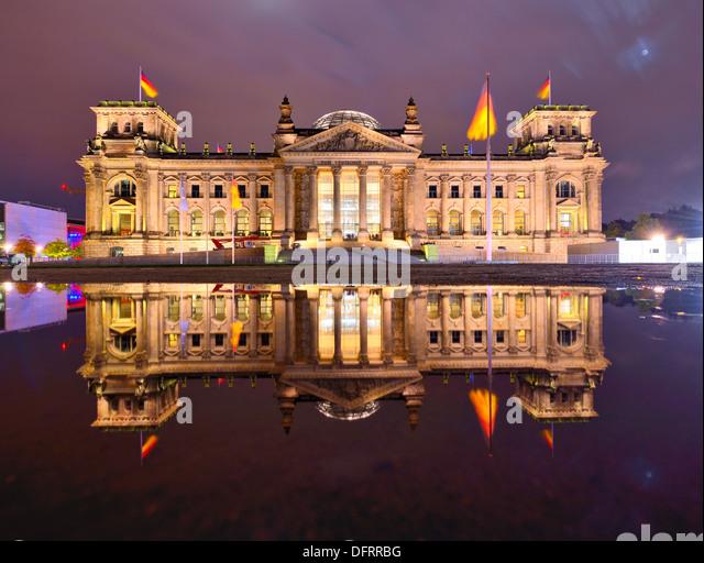 Reichstag in Berlin, Deutschland Stockbild