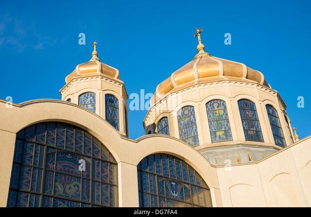 Ukrainische katholische Marienkirche, Vancouver, Britisch-Kolumbien, Kanada Stockbild