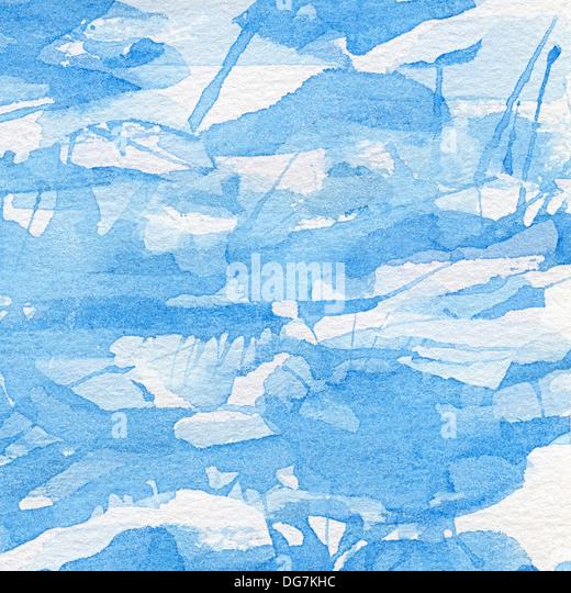 Abstrakte Aquarell handgemalte Hintergrund. Stockbild