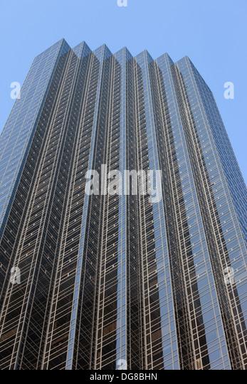 Trump Tower in New York, USA. Stockbild