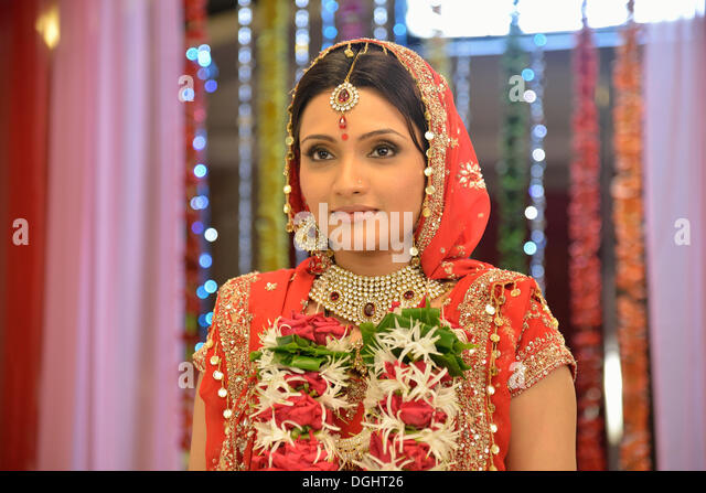 """Bollywood-Schauspielerin Zoya Khan während der Dreharbeiten der Serie """"My Daughter"""" in der SJ Film Stockbild"""