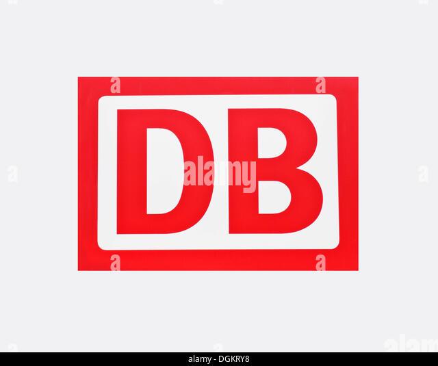 DB, Deutsche Bahn, Deutsche Bahn, logo Stockbild