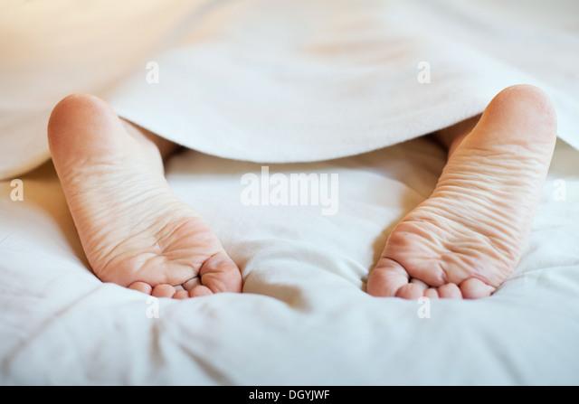 Faulheit und Schlaf Stockbild
