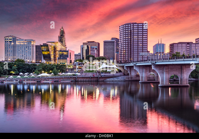 Hartford, Connecticut, USA. Stockbild