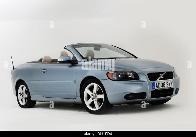 2008 Volvo C70 Cabrio Stockbild