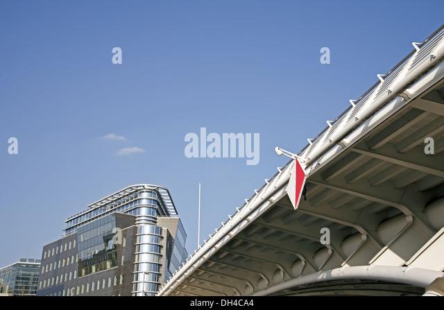Kronprinzenbrücke, Berlin Stockbild