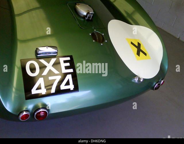 Aston Martin DB3S, OXE 474, England 2012. Stockbild
