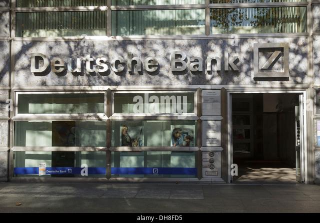Deutsche Bank, Kurfürstendamm, Berlin, Deutschland Stockbild