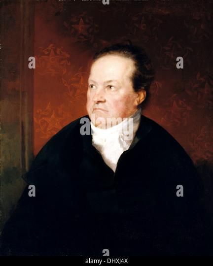 DeWitt Clinton - von Samuel F. B. Morse 1826 Stockbild