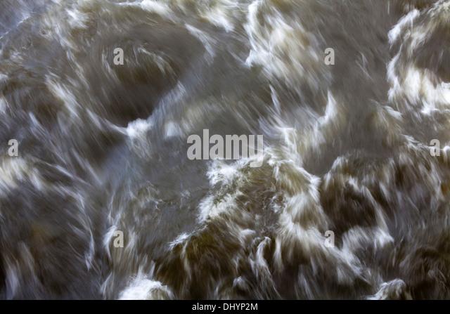 Wilde Wasser Stockbild