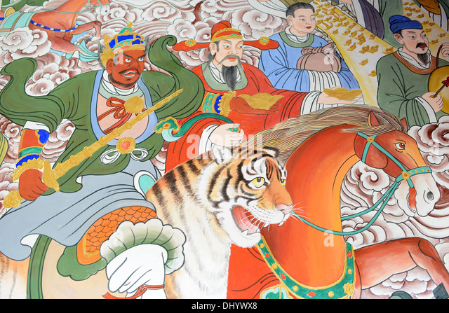 uma or kali riding on the tiger stockfotos uma or kali riding on the tiger bilder alamy. Black Bedroom Furniture Sets. Home Design Ideas
