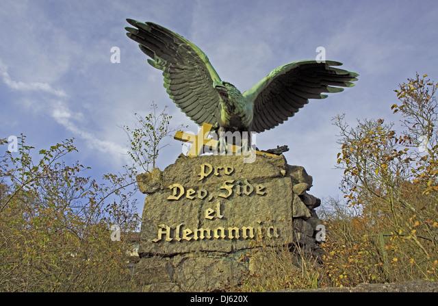 Denkmal Laufenburg Baden Stockbild