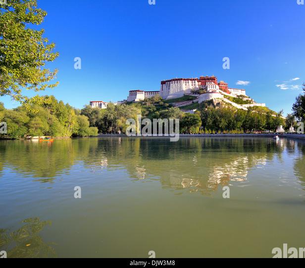 Potala Palast, Lhasa, Tibet, China Stockbild