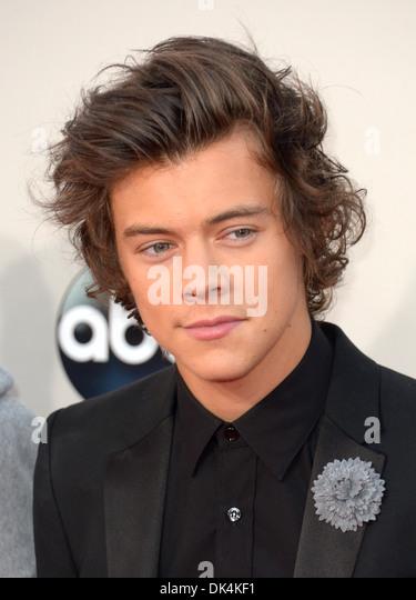 Harry Styles kommt bei den American Music Awards in Los Angeles, Amerika - 24. November 2013 Stockbild