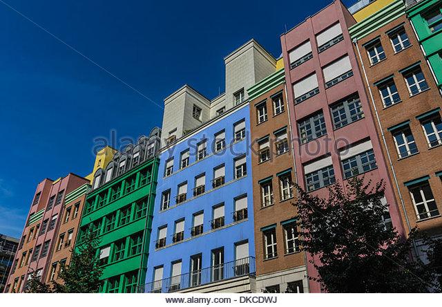 Bürogebäude, Berlin, Deutschland Stockbild
