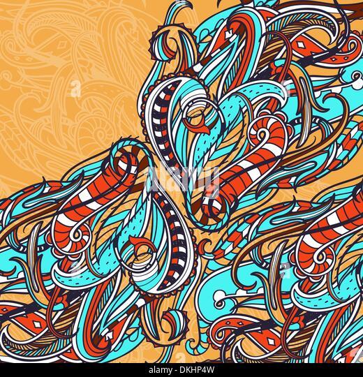 abstraktes Vektor Hintergrund Stockbild