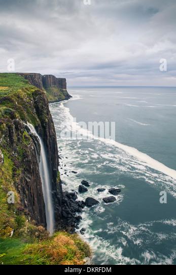 Kilt Rock, Isle Of Skye, Schottland, Europa Stockbild