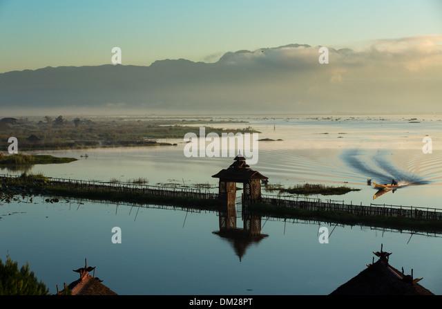 Inle-See, Myanmar (Burma) Stockbild