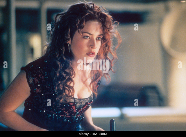 TITANIC 1997 Twentieth Century Fox Film mit Kate Winslet Stockbild