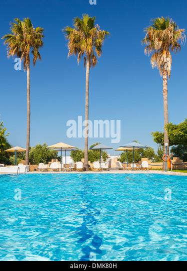 Tropischen resort Stockbild