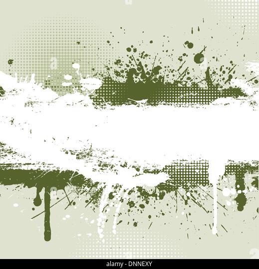 Detaillierte Grunge Hintergrund mit Spritzer und Tropfen Stockbild