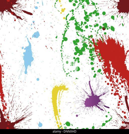 Abstract Grunge Vektor Musterdesign.  Ziehen Sie für leicht machen nahtloses Muster nur Gruppe 'alle' - Stock-Bilder