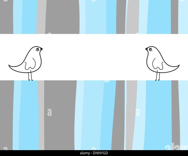 Abstraktes Vektor Grußkarte Design einsetzbar. Stockbild