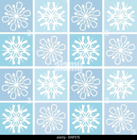 Abstrakte Schneeflocke Hintergrund Stockbild