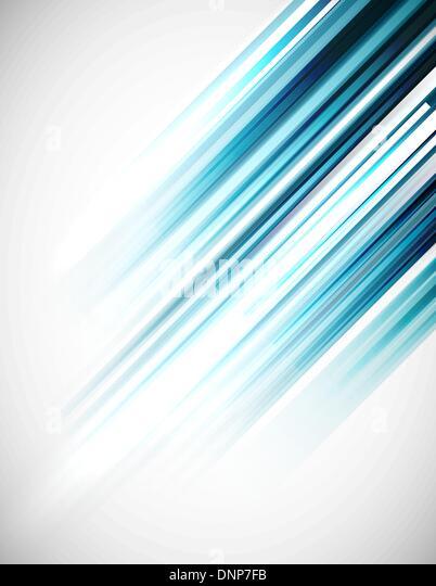 Blaue abstrakte geraden Vektor-Hintergrund Stockbild