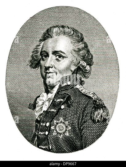SIR HENRY CLINTON Stockbild