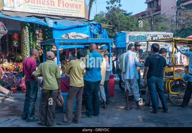 Siddiamber Bazar Hyderabad Indien Stockbild