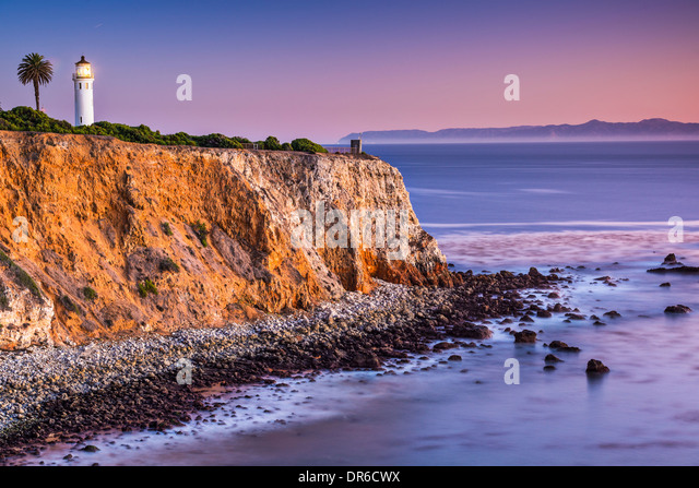 Zeigen Sie Vicente in Rancho Palos Verdes, Los Angeles, Kalifornien. Stockbild