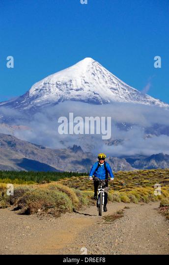 Mountainbike-Touren Stockbild