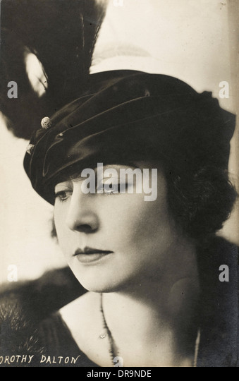 Dorothy Dalton - Stummfilmstar Stockbild