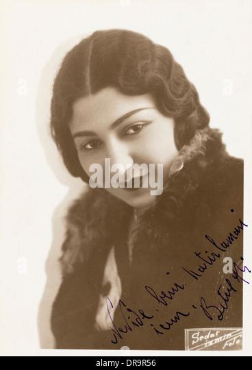Türkische Filmstar aus Izmir Stockbild