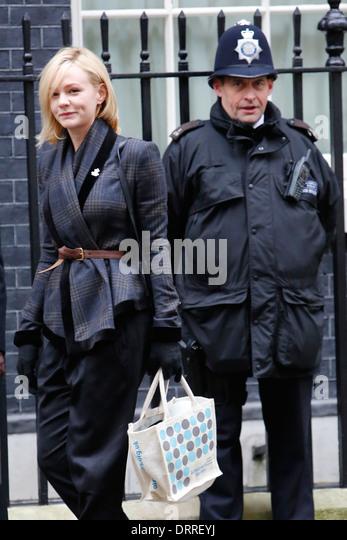 Britische Schauspielerin Carey Mulligan Stockbild