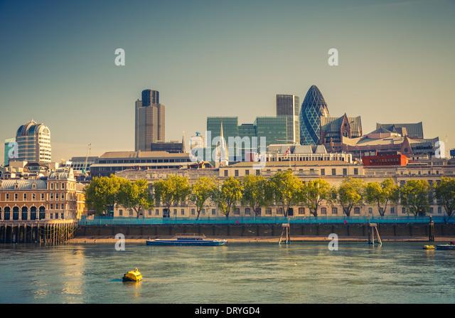 London City Stockbild