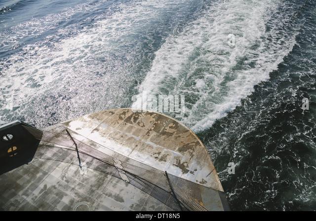 Seattle Washington USA Fähre und Gefolge Puget Sound Stockbild