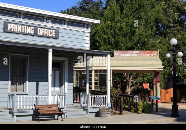 Historisches Museum in Kelley Park, San Jose, Kalifornien, Vereinigte Staaten von Amerika, Nordamerika Stockbild