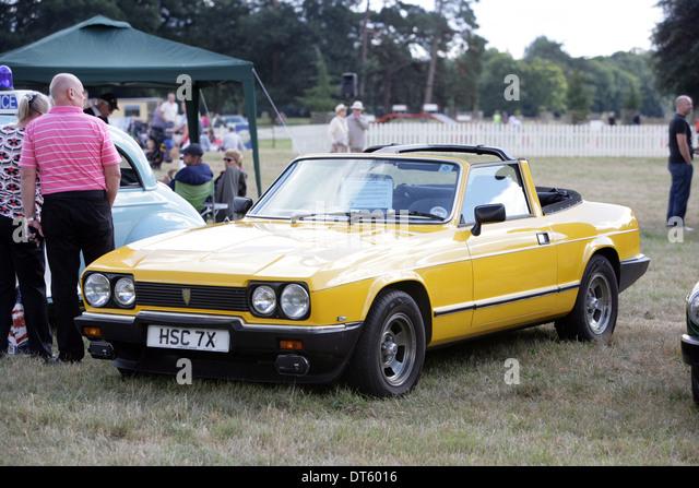 Eine seltene 1981 Reliant Scimitar GTC britische gebaut Sportwagen. Eines nur 442 Autos gemacht. Angewiesen war Stockbild