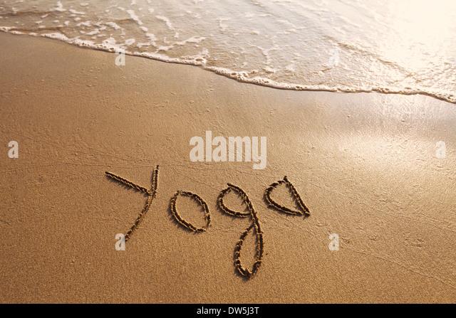 Yoga-Konzept Stockbild