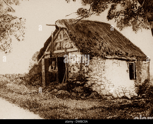 Emdale - Geburtsort von Patrick Brontë - viktorianische Periode Stockbild
