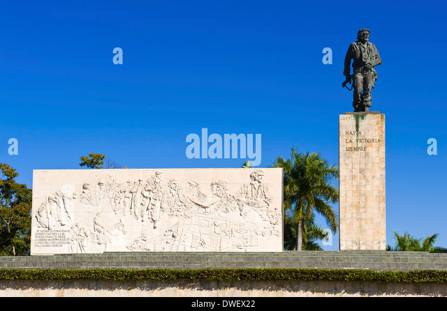 Che Guevara-Denkmal, Santa Clara Stockbild