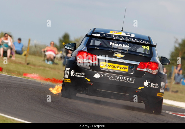 Andy Neate (GBR) IP-Tech Race Engineering-Chevrolet Cruze Stockbild