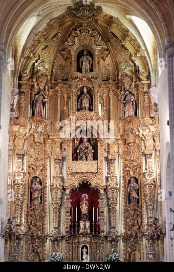 Kirche San Dionisio, Jerez De La Frontera, Andalusien, Spanien, Europa Stockbild