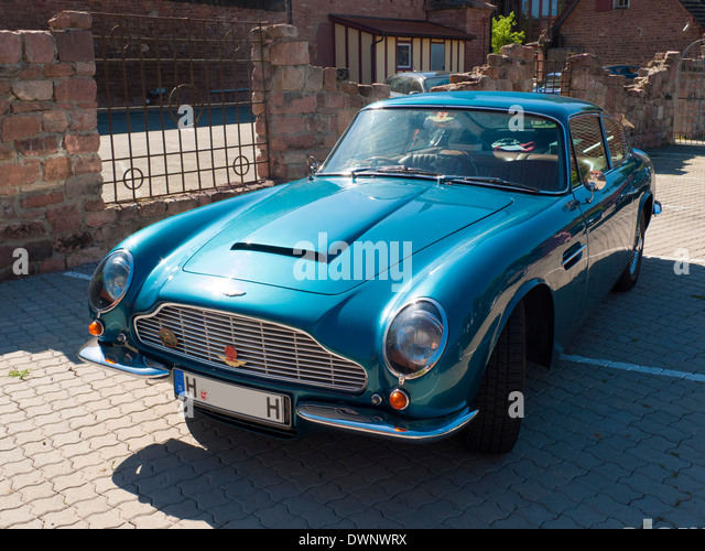 Aston Martin DB6 MKII Saloon, Baujahr 1969-1970, Hessen, Deutschland Stockbild