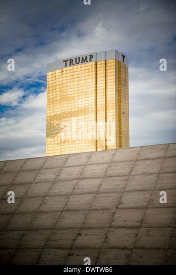 Trump Hotel in Las Vegas, Navada, USA Stockbild